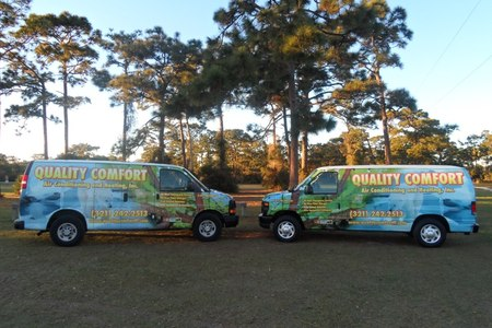 Quality Comfort Air Conditioning And Heating Inc. Visiting Wickham Park In Melbourne, Florida